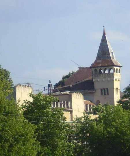 Мисливський будинок графа Шенборна в Берегові