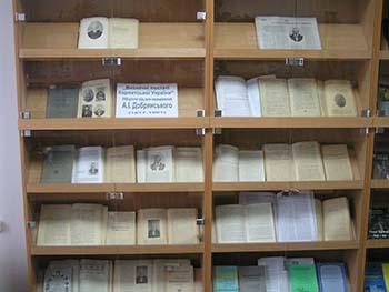 В Ужгороді книжковою виставкою вшанували Адольфа Добрянського