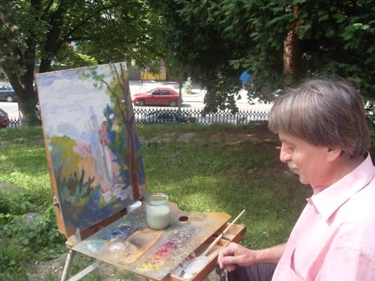 25 провідних митців Закарпаття малювали краєвиди Ужгорода (ФОТО)