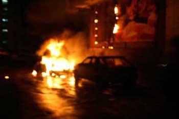 У прокуратурі Закарпаття заговорили про проблему підпалів автомобілів
