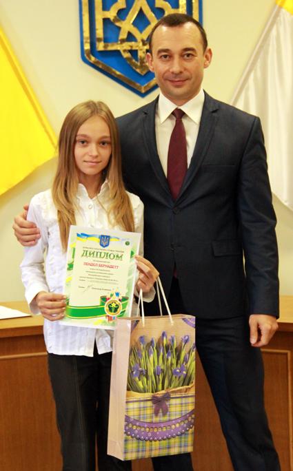 В Ужгороді нагородили переможців конкурсу «Податки очима дітей-2012»