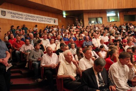 В Ужгороді нагородами відзначили День фізичної культури в спорту