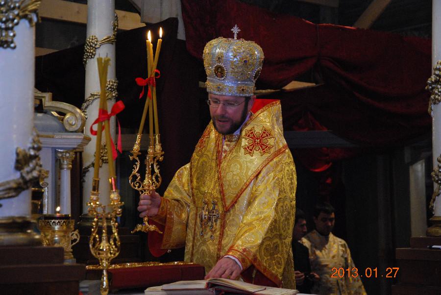 Владика Ніл відслужив приміційну Архієрейську Літургію українською мовою (ФОТО)