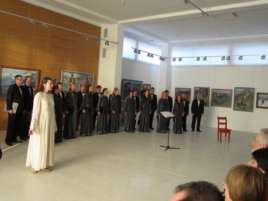 В Ужгороді відбувся концерт хору «Кантус», присвячений поезії Шевченка (ФОТО)