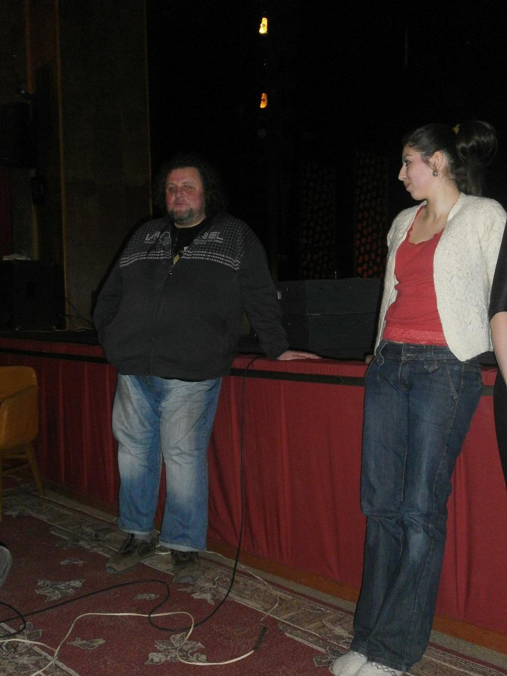 В Ужгороді відбулася відкрита репетиція вистави «Maine liebe, Віра» (ФОТО)