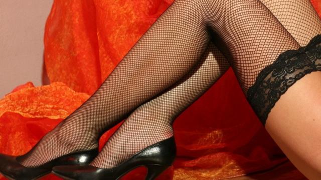 Фото женских ножек в чулках и туфельках 57102 фотография
