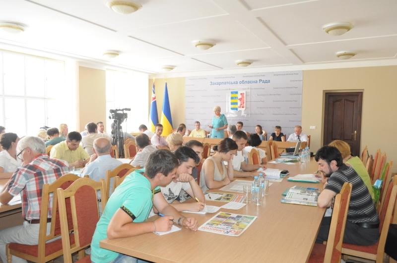 На Закарпатті вперше відбулось виїзне засідання Національної екологічної ради України