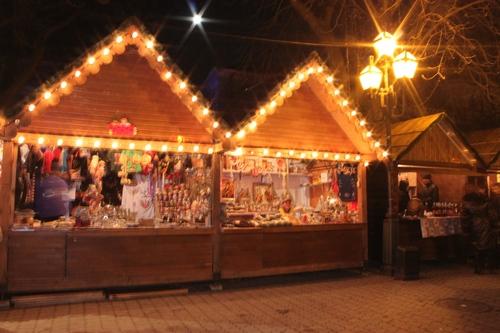 До 14 січня в Ужгороді діятиме новорічний ярмарок