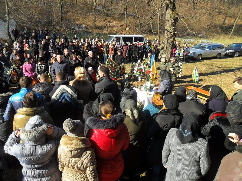 Ужгородщина попрощалася з Анатолієм Голиком, котрий загинув на східному фронті