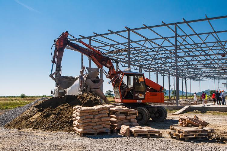 Сміттєпереробний завод, що споруджується на Берегівщині, розрахований на роботу протягом 80 років (ФОТО)