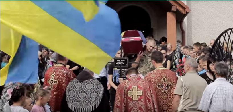 У Фанчикові на Закарпатті поховали вже другого полеглого героя – Олександра Леврінца