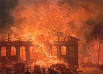 На Закарпатті, зокрема на Виноградівщині, впродовж вихідних горіли будинок, сауна, квартира та надвірні споруди