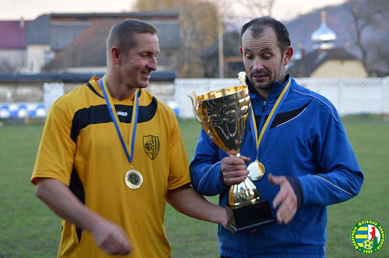 Хто став чемпіоном Закарпаття з футболу серед ветеранів