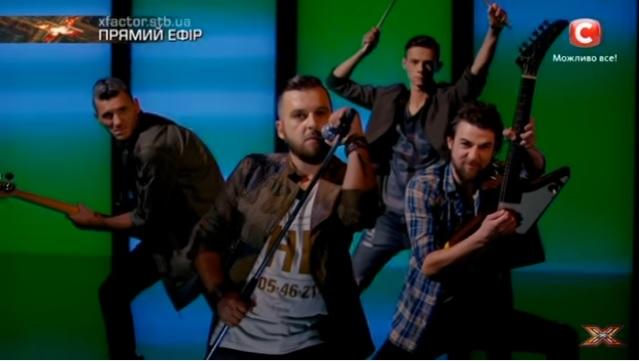 Закарпатський гурт «Без обмежень» виступили в дуеті з Lama. Х-фактор-7 (відео)
