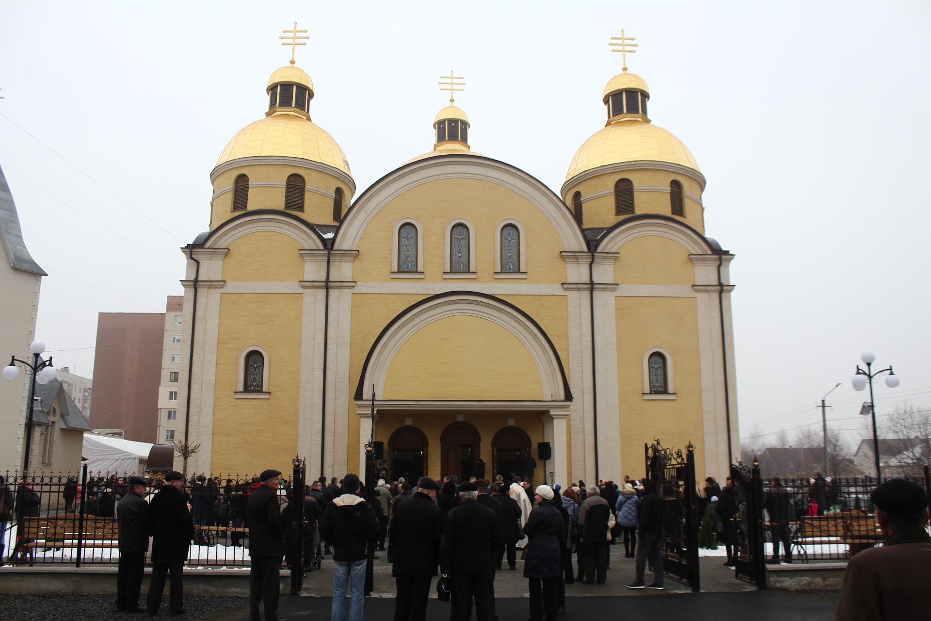У Мукачеві урочисто освятили Собор Cвятих Кирила і Мефодія