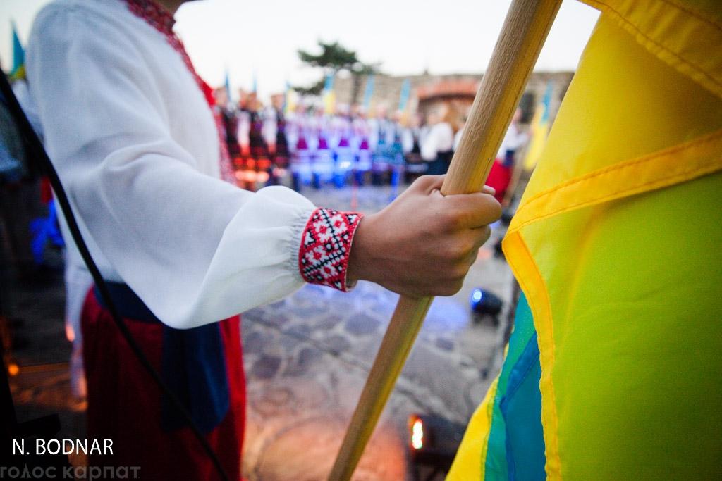 В Ужгороді на світанку молилися за Україну (ФОТО)