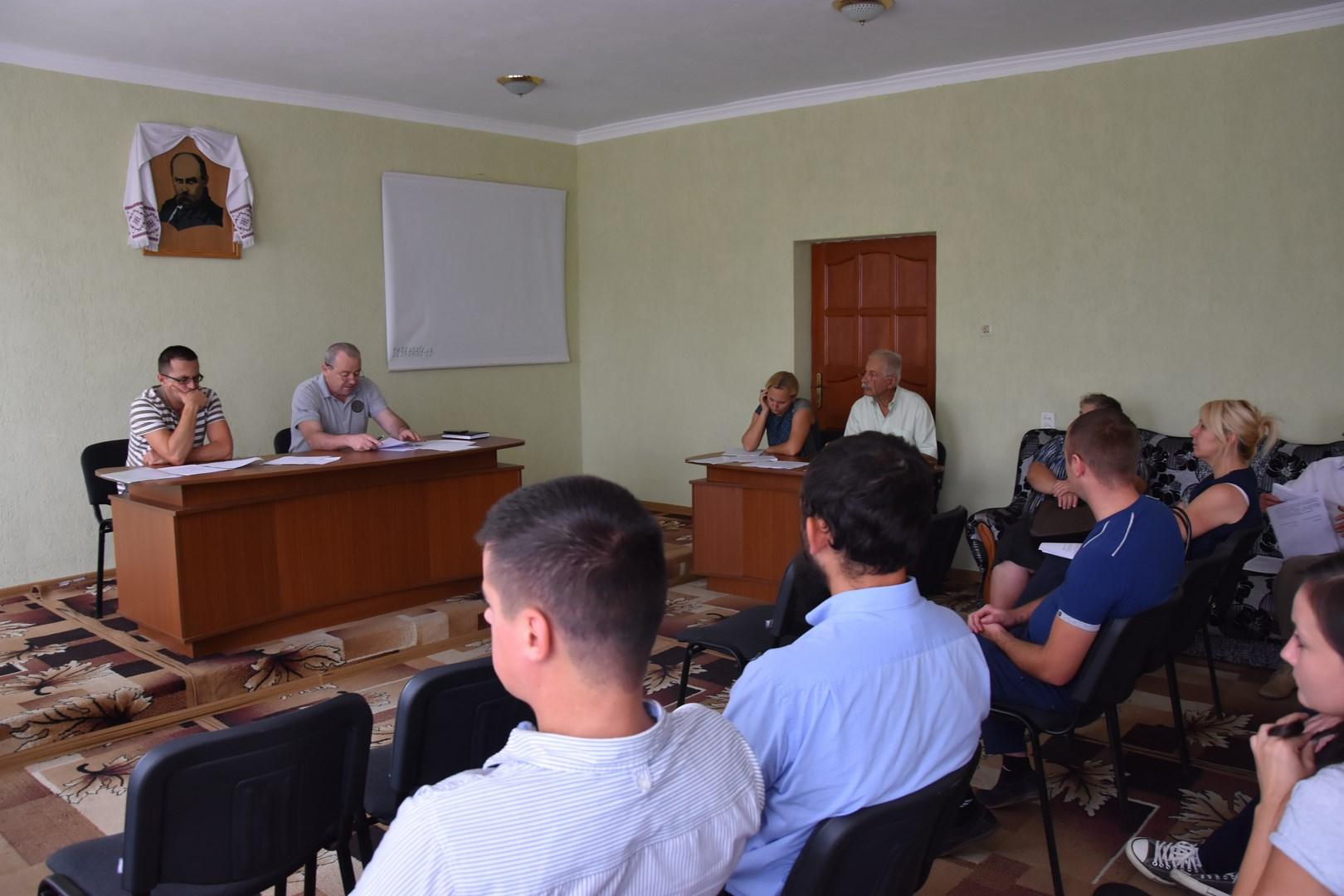 В Іршаві обговорювали життєзабезпечення новостворюваної об'єднаної територіальної громади
