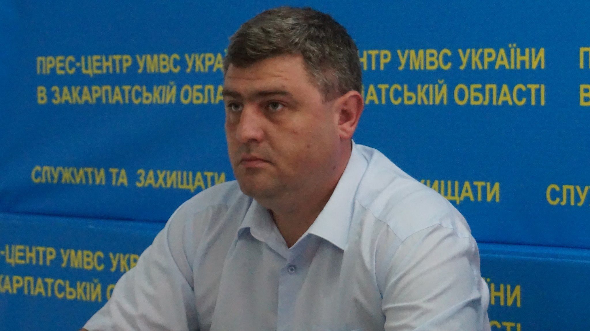 Закарпатську поліцію очолив Роман Стефанишин (ФОТО)