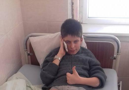 Хворий на гемофілію Андрій Закутний з Мукачева у 350-кілометровому лижному переході за збереження лісів потрапив до лікарні