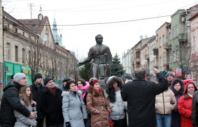 Сьогодні у Виноградові проходять відкриті екскурсії