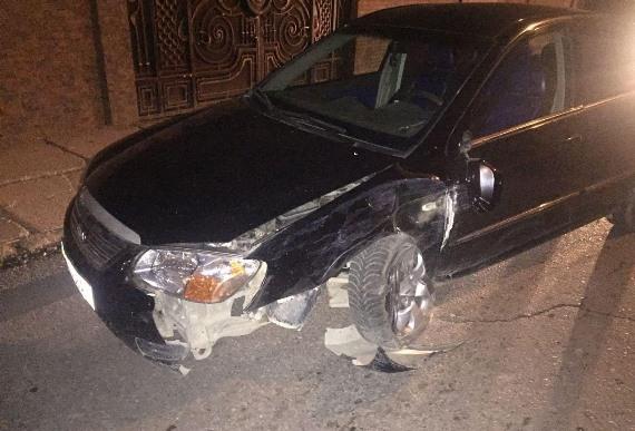 У Виноградові п'яний водій спровокував ДТП, а на Рахівщині нетверезий кермувальник тікав від поліції