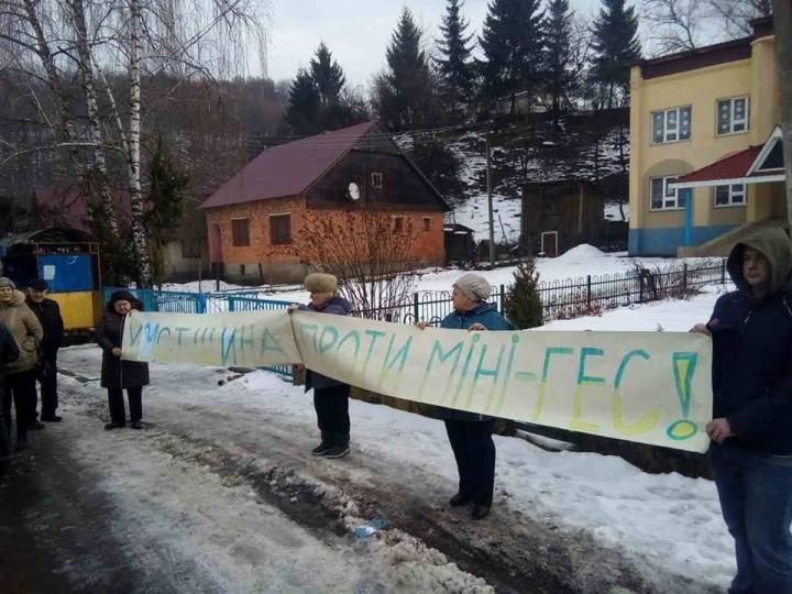Березівська сільрада у підсумку громадських протестів скасувала розпорядження та заборонила будівництво міні-ГЕС (ДОКУМЕНТИ)