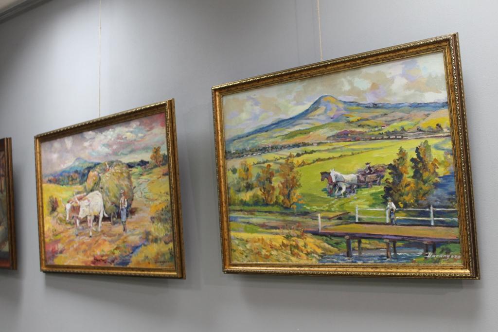 У Виноградові відкрили персональну виставку Міклоша Горонгозо (ФОТО)