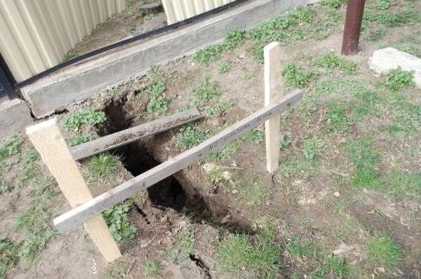 На Воловеччині унаслідок зсуву ґрунту можуть бути зруйновані два будинки