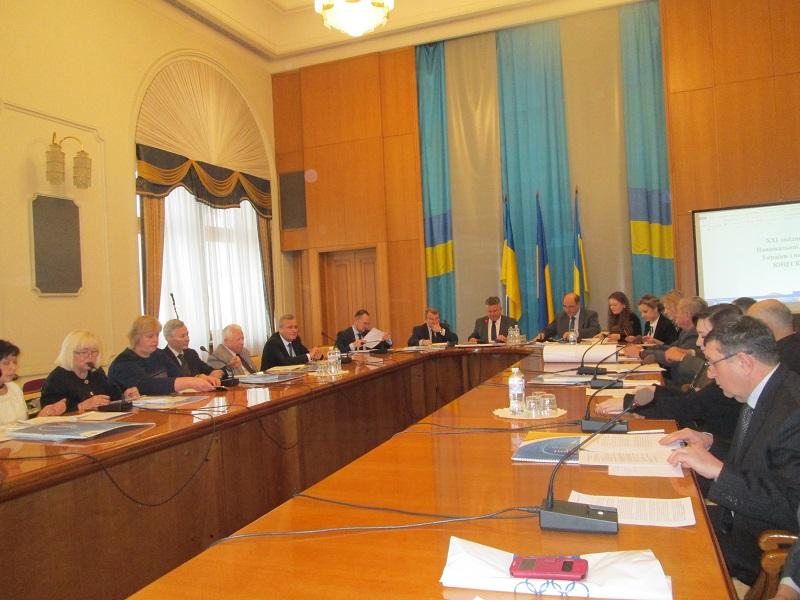 На засіданні Нацкомісії України у справах ЮНЕСКО порушувалось питання будівництва Міжнародного центру букових пралісів на Закарпатті