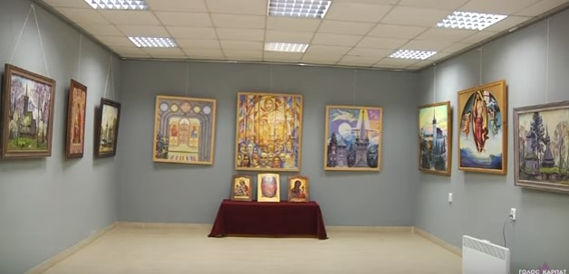 У Виноградові презентували виставку робіт Ласло Гайду та вихованців його авторської художньої школи (ВІДЕО)