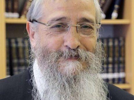В Ізраїлі помер рабин,  побитий торік закарпатцями у Житомирі