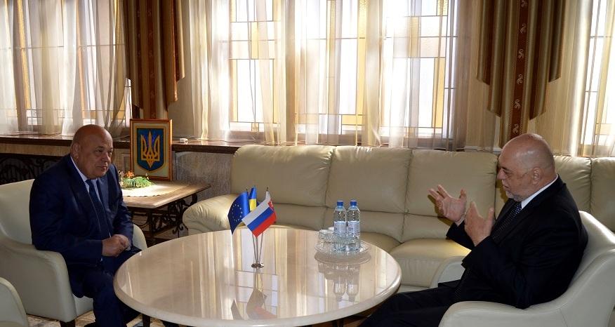 Мірослав Мойжіта почав виконувати повноваження Генерального консула Словацької Республіки в Ужгороді (ФОТО)