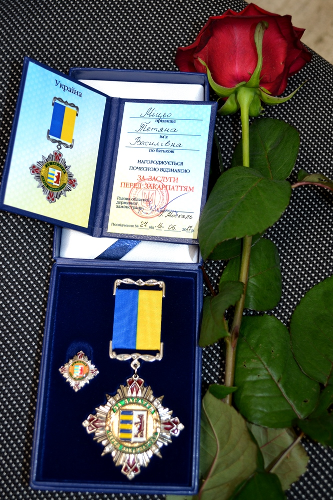 На Закарпатті відзначили кращих медпрацівників та вручили сертифікати на нові карети