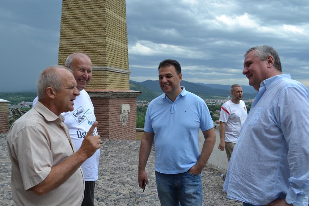 Чеська делегація завітала на Свалявщину та Міжгірщину