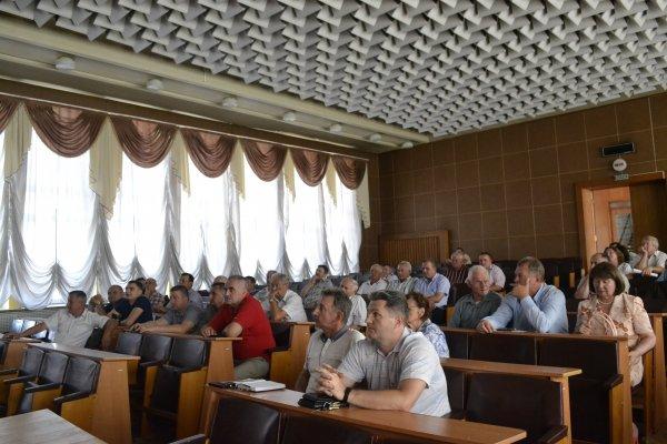 Громадська рада при Тячівській РДА обговорила питання спорудження каскадів міні-ГЕС на річці Тересва
