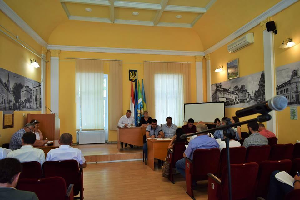 У Берегові відбулося позачергове сесійне засідання міської ради