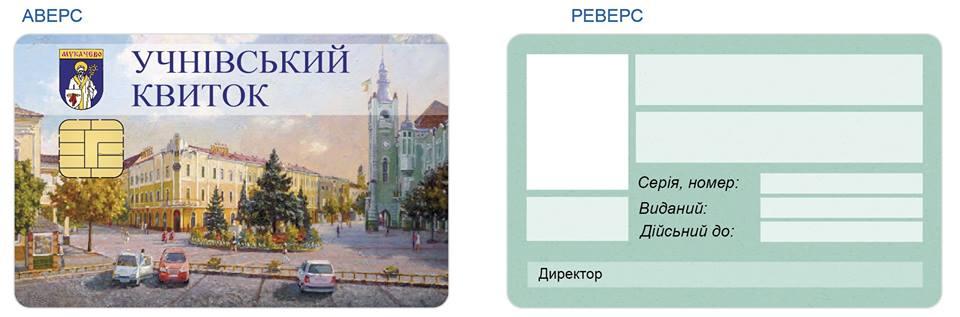У вересні школярі в Мукачеві отримають електронні учнівські квитки