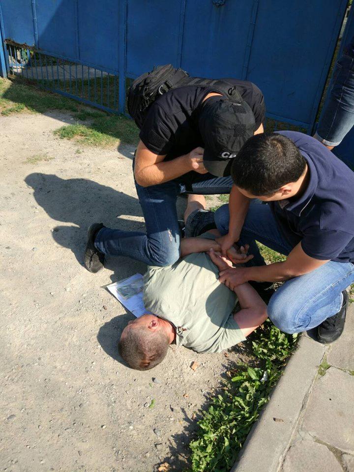 У Закарпатті працівника Укртрансбезпеки затримали на хабарі 6 тис грн