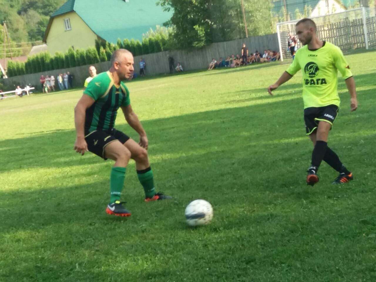 На Тячівщині пройшли чергові матчі першості області з футболу  (ФОТО)