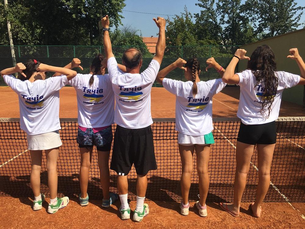 У Тячеві гостюють юні тенісисти з Ізраїлю (ФОТО)
