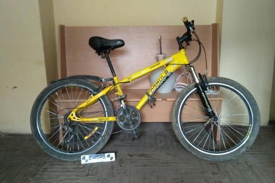 Виноградівські оперативники затримали крадія велосипеду