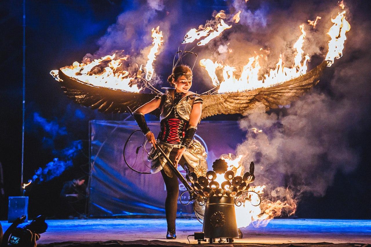 Навесні на Закарпатті знову відбудеться фестиваль вогню Fire life fest