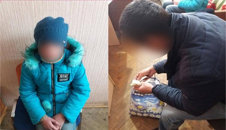 В Івано-Франківську закарпатець змусив маленьку доньку жебракувати (ФОТО)