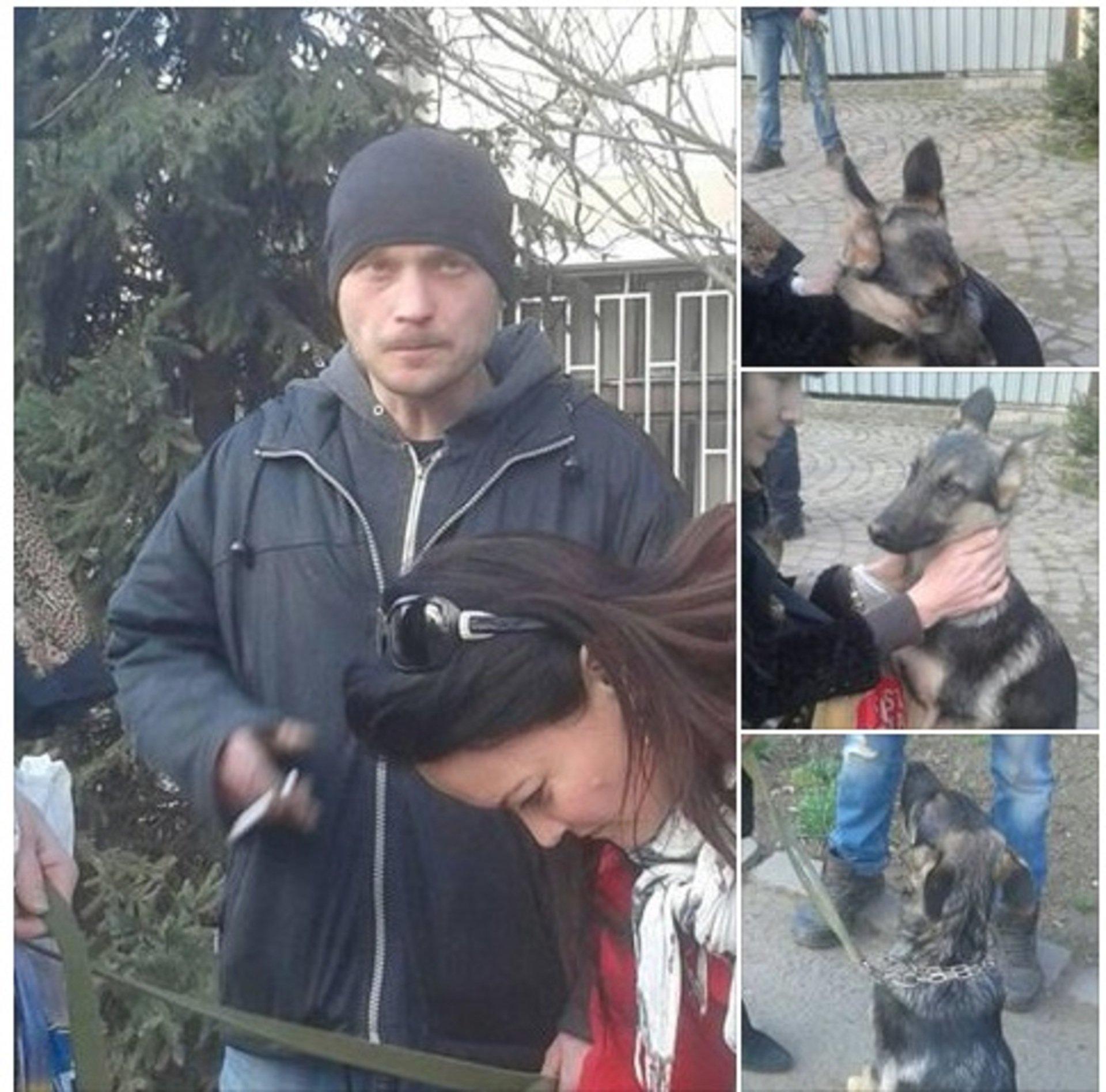 В Ужгороді поліція не затримала зловмисника, який привселюдно жорстоко побив свого собаку