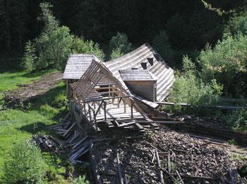Закладені на реконструкцію Музею лісу і сплаву на Закарпатті кошти поки не виділені, тож підрядник не стає до роботи