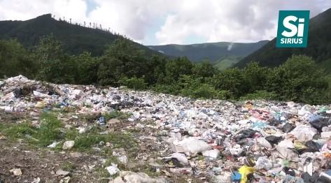 Міжгірщина страждає від засилля сміття