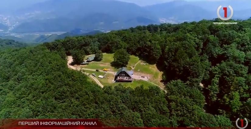 На горі Явірник на Закарпатті оновили туристичний притулок (ВІДЕО)