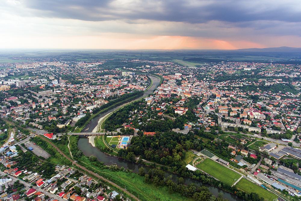 Ужгород опинився аж на 18 місці в рейтингу по комфорту серед 22 міст України