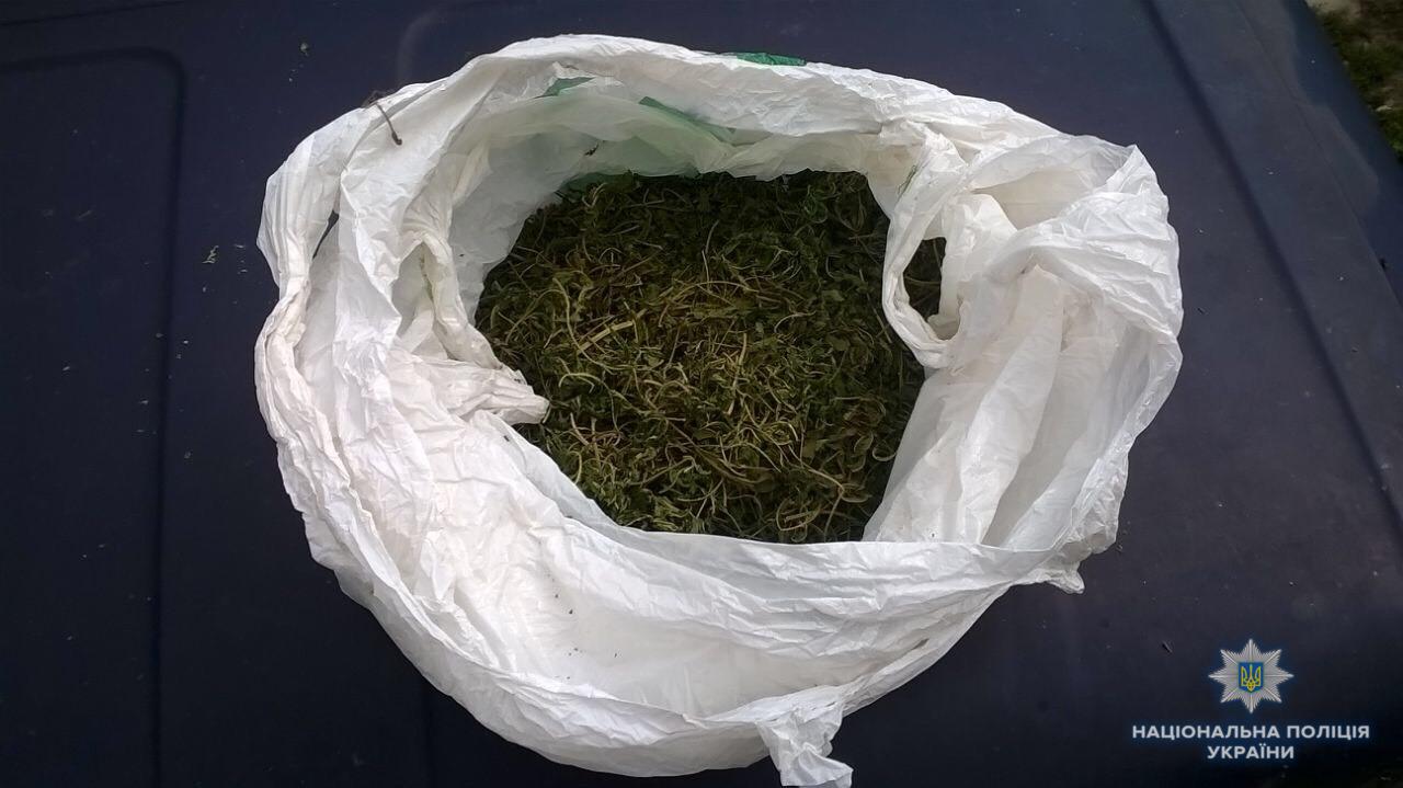 Під час обшуку в будинку та автівці мешканця Берегова знайшли 200 г марихуани