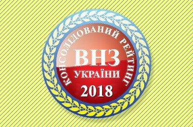 УжНУ – у десятці кращих класичних університетів України та на 25 місці в консолідованому рейтингу вишів 2018 року